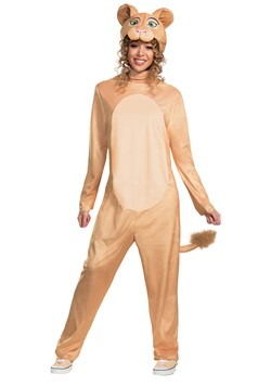Disney Animated Lion King Adult Nala Jumpsuit Costume