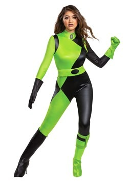 Kim Possible Animated Series Women's Shego Costume
