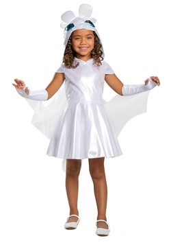 How to Train Your Dragon Girls Light Fury Classic Costume