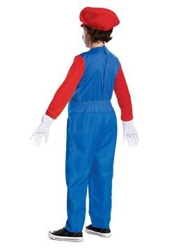Boys Super Mario Brothers Mario Deluxe Costume alt1