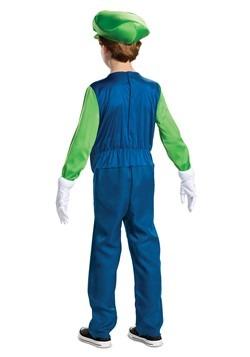 Super Mario Brothers Luigi Boys Deluxe Costume alt1