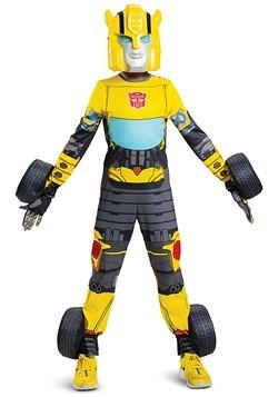Kids Transforming Transformers Bumblebee Costume alt 2