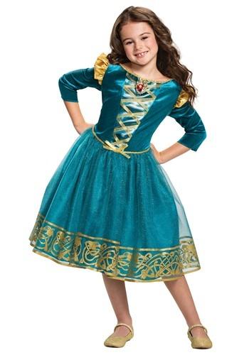 Brave Merida Classic Girls Costume