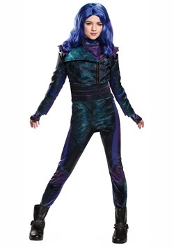 Disney Deluxe Descendants 3 Girls Mal Costume