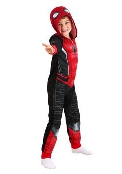 Boys Spiderman Far From Home Blanket Sleeper Alt 2