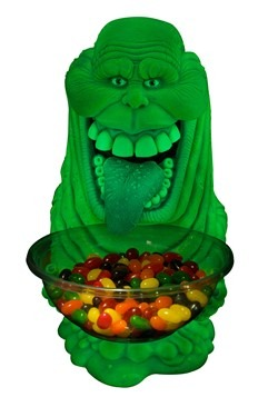 Ghostbusters Glow in the Dark Slimer Candy Bowl Decor alt 1