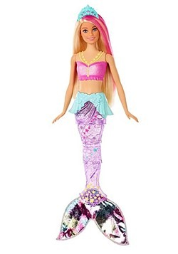 Barbie Sparkle Lights Mermaid Alt 1