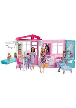 Barbie House & Doll Alt 2
