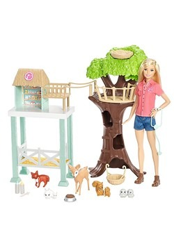 Barbie Animal Rescue Playset Alt 1