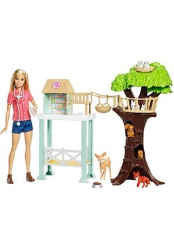 Barbie Animal Rescue Playset Alt 2