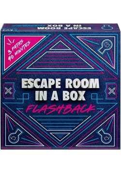 Mattel Escape Room in a Box Flashback