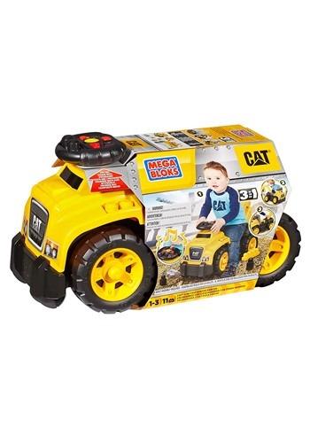Mega Bloks CAT 3 in 1 Excavator Ride-On Toy