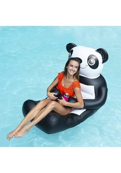 Huggables Panda Inflatable Pool Float Alt 1
