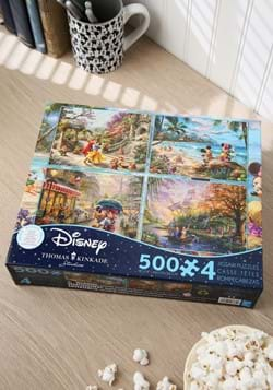 Thomas Kinkade Disney Dreams Collection 4-in-1 Puz