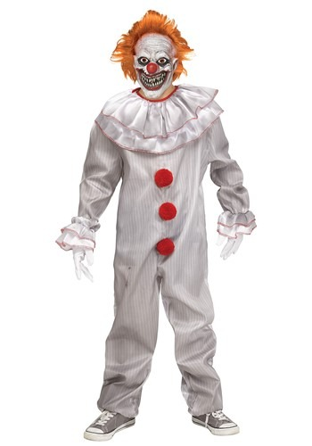 Carnevil Killer Clown Costume for Boys