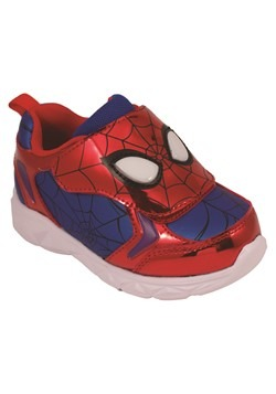 Spiderman Kids Lighted Sneaker Alt 1