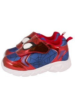 Spiderman Kids Lighted Sneaker Alt 2