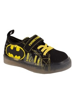 Batman Kids Lighted Canvas Shoe