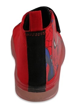 Spiderman Hightop Lighted Kids Shoe Alt 4