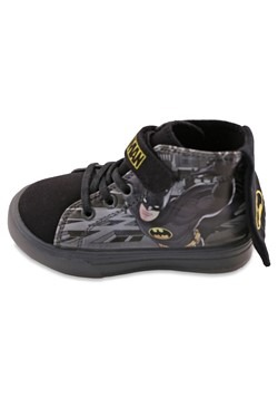 Batman Lighted Hightop Cape Shoe Alt 1