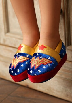 Wonder Woman Logo Kids Slipper