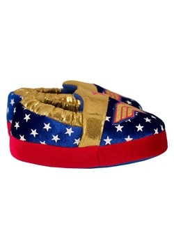 Wonder Woman Logo Kids Slipper Alt 1