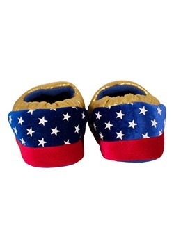 Wonder Woman Logo Kids Slipper Alt 2