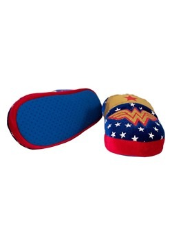Wonder Woman Logo Kids Slipper Alt 3