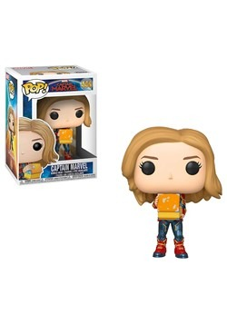 Pop! Marvel: Captain Marvel- Captain Marvel Holding Lunchbox