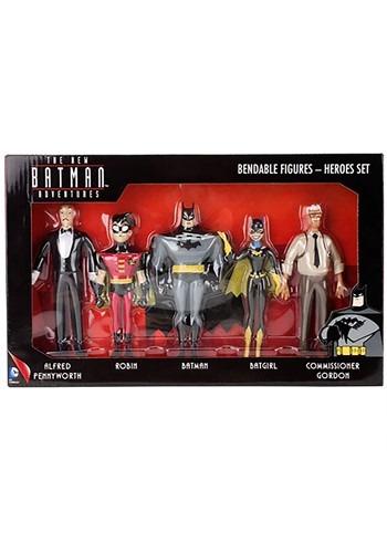 New Batman Adventures Heroes Bendable Figures Set