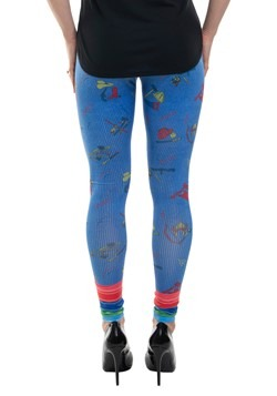 Women's Child's Play Chucky Costume Leggings2