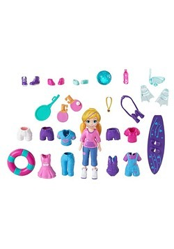 Polly Pocket Awesomely Active Pack