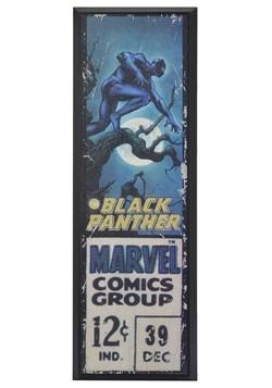 "Marvel Black Panther 8"" x 27"" Framed Print Wall Art"
