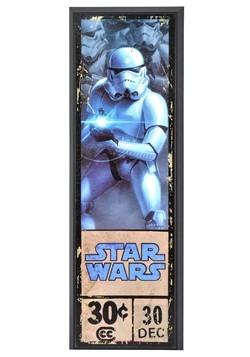 """Star Wars Stormtrooper 8"""" x 27"""" Framed Print Wall Art"""