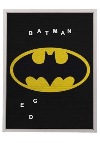 "DC Comics Batman 13""x17.5"" Felt Letterboard Wall Art w/ 145"