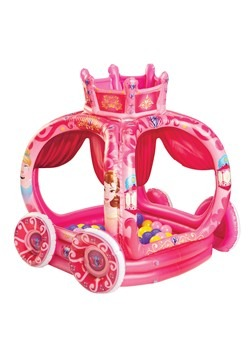 Princess Carriage 50 Ball Pit