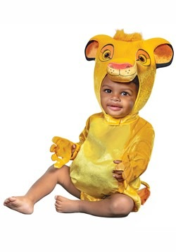 Lion King Infant Simba Costume3