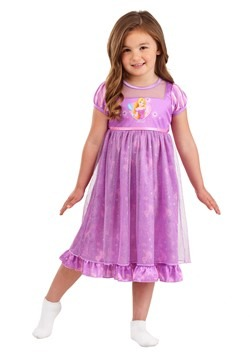 Girls Rapunzel Fantasy Sleep Gown