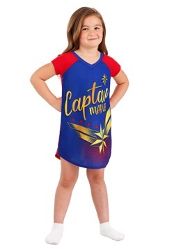 Girls Captain Marvel Dorm Nightgown