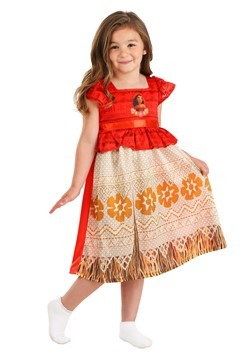 Girls Moana Fantasy Sleep Gown