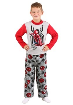Boys Spider-Man Far From Home: Long Sleeve Top - Lounge Pant