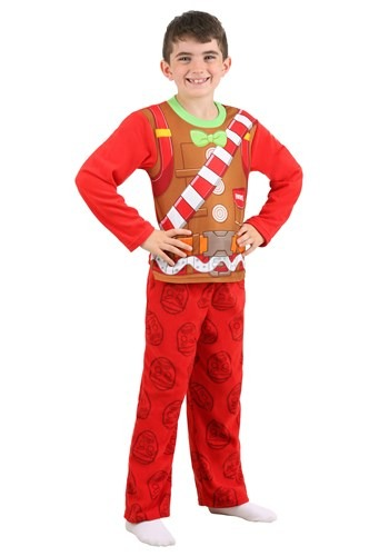 Fortnite Merry Marauder Long Sleeve Shirt w/ Lounge Pants