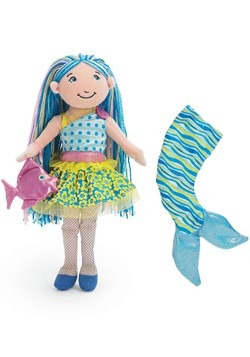 Aqualina Mermaid Groovy Girls Soft Doll