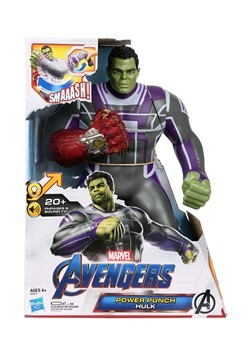 AVN Power Punch Hulk Action Figure