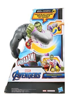 AVN Power Punch Hulk Action Figure Alt 1