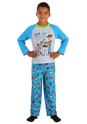 Boys Toy Story Long Sleeve Sleep Set
