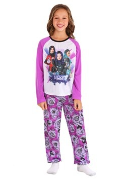 Girls Descendants Long Sleeve Sleep Set