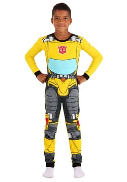 Boys Transformers Bumblebee Long Sleeve Sleep Set