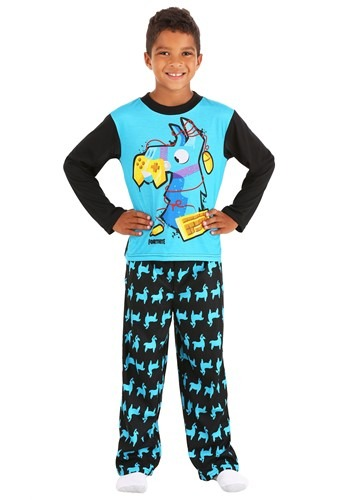 Boys Fortnite Llama Long Sleeve Sleep Set