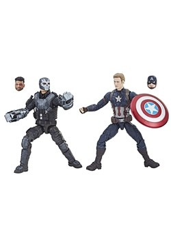 Marvel Legends Cinematic Universe 10th Anniversary Captain